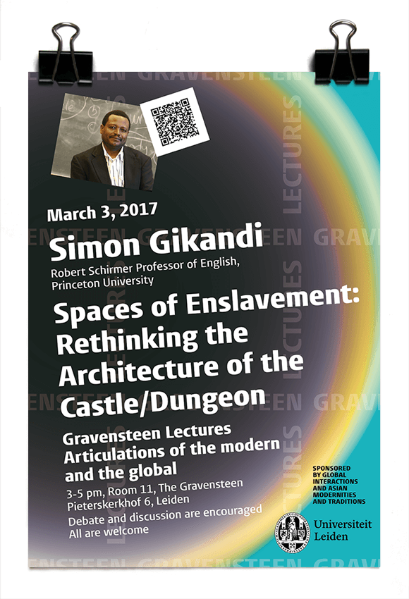 Simon Gikandi - Spaces of Enslavement: Rethinking the Architecture of the Castle/Dungeon - Gravensteen lectures 2017