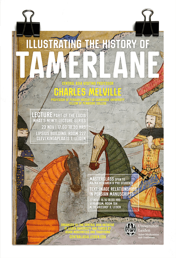 Central Asia Initiative 2017 - Charles Melville - Illustrating the History of Tamerlane - AMT