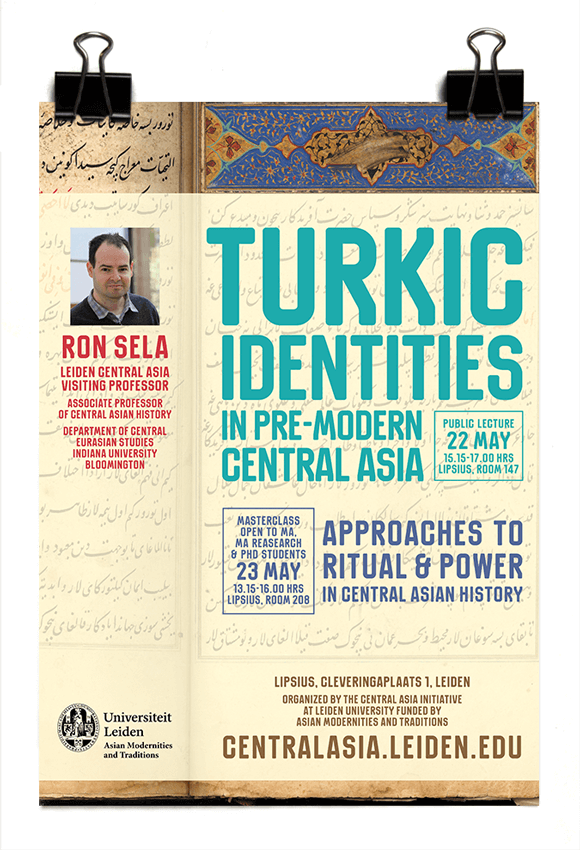 Central Asia Initiative 2017 - Ron Sela - Turkic Identities in pre-modern Central Asia - AMT